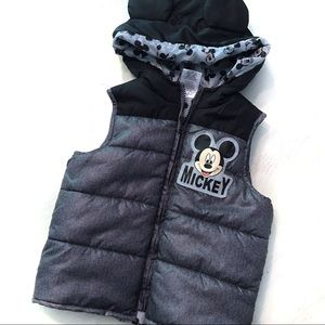 Mickey Mouse Puffer Vest
